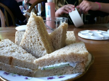 Abbey Garden Tea Sandwiches
