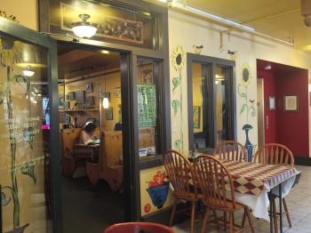 Mambo Italiano courtyard entry