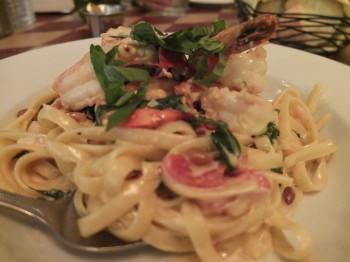 Mambo Italiano shrimp