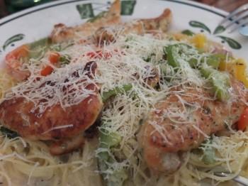 Olive Garden Scampi