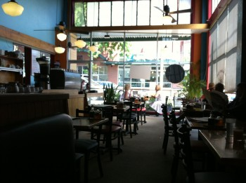 Sunlight Cafe windows