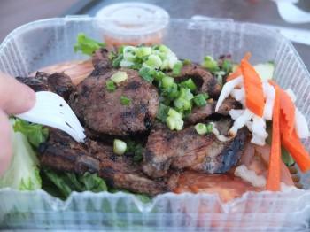 Green Leaf Pork Chop
