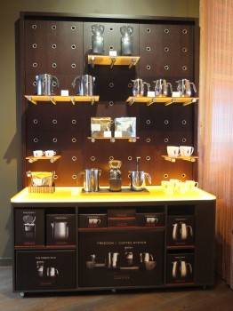 Storyville Coffee Display