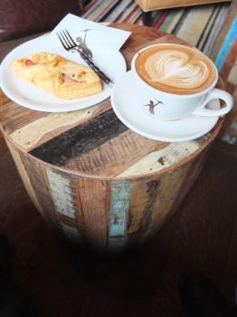 Storyville Coffee Mocha & Ham Pastry