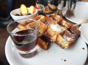 Storyville Coffee Waffles