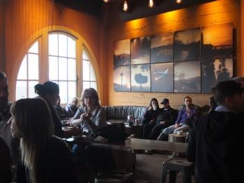 Storyville Coffee Art & Window