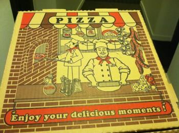 Italian Family Pizza Box