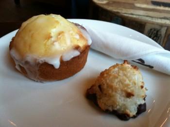 Storyville Lemon Muffin & Macaroon