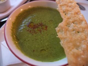 Tilikum Place Cafe Kale & Parmesan Soup