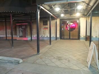 Jazz Alley Entryway