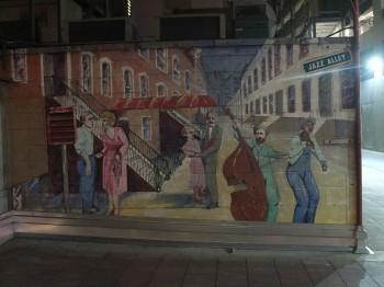 Jazz Alley Mural