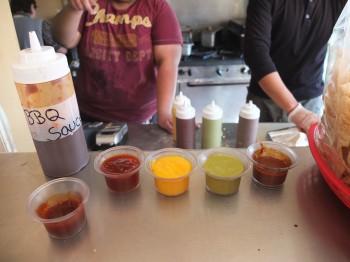 Pedro & Vinny's Tasting Sauces