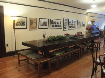 Panama Hotel Tea House Large Table