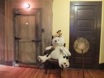 Panama Hotel Tea House Bear