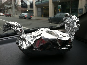 Happy Grillmore Duck Foil Wrapping