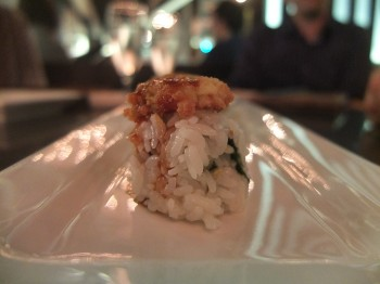 Wasabi Vegetarian Cowboy Roll