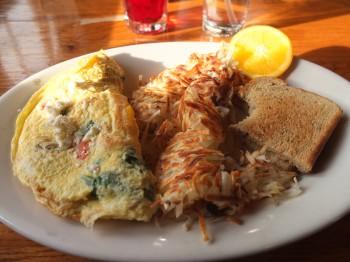 Island Skillet Farmer's Omelette