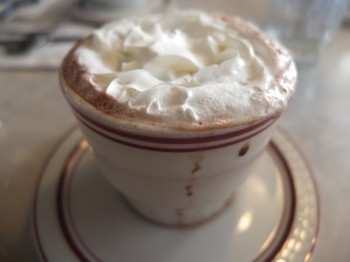 Five Columns Hot Chocolate