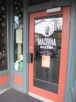Macrina Cafe Door