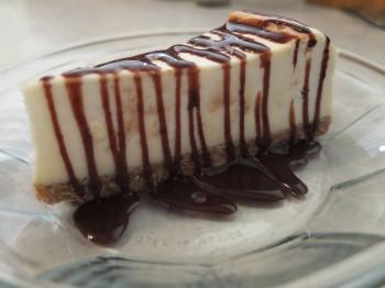 Five Columns New York Cheesecake