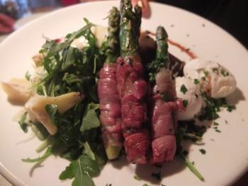 Toulouse Petit Asparagus Prosciutto Salad