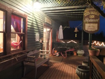 Deer Harbor Inn Restaurant Porch Entry