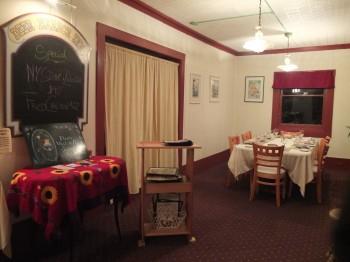 Deer Harbor Inn Restaurant Inside Right
