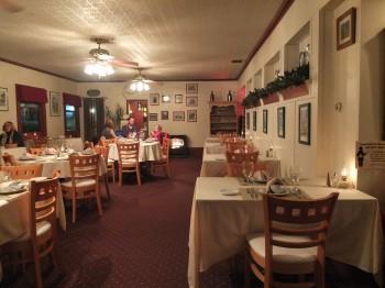 Deer Harbor Inn Restaurant Indoors Ahead