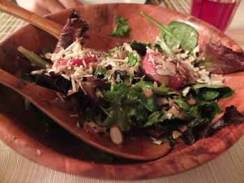 Deer Harbor Inn Restaurant Family Style Salad