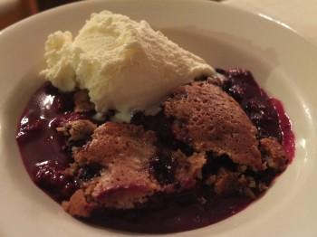 Deer Harbor Inn Restaurant Blackberry Cobbler