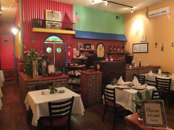 Gorgeous George's Colorful Interior