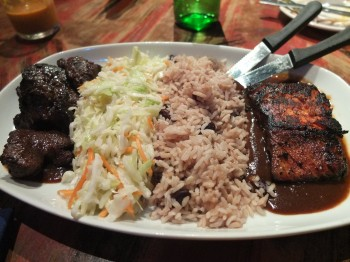 The Reef Jamaican Jerk Treasure for Two