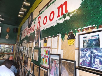 The Elbow Room Photo Wall