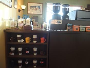 Darvill's Bookstore Espresso
