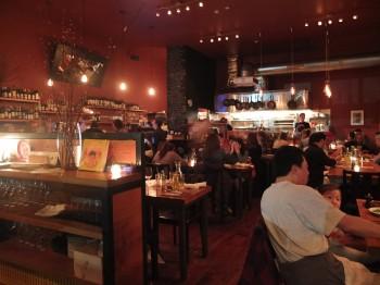 Toro Bravo Bustling Dining Room