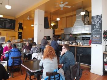 Kenny & Zuke's Seating & Kitchen