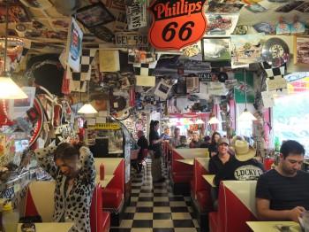 XXX Root Beer Dining Area