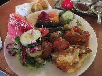 Cafe Turko My Dinner Plate