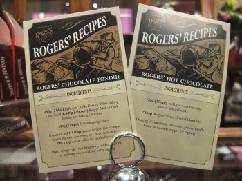 Roger's Chocolates Fondue Recipe