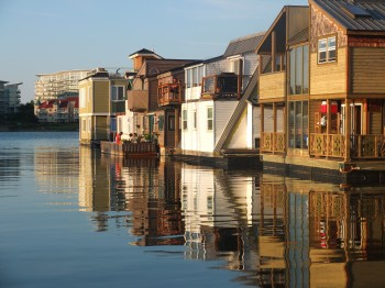 Victoria's Floating Village in Fisherman's Wharf