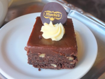 Murchie's Chocolate Caramel Brownie