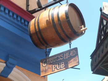 Garrick's Head Pub Barrel