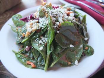 Pasta Bella Spinach Salad