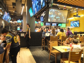 Buffalo Wild Wings Seating Right