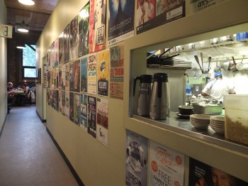Cafe Presse Hallway to Backroom