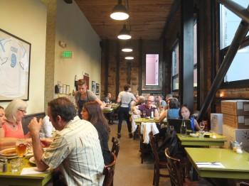 Cafe Presse Back Room Dining