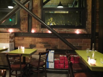 Cafe Presse Intimate Backroom Seating