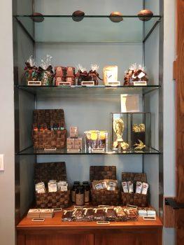Cacao Heathman Hotel Display