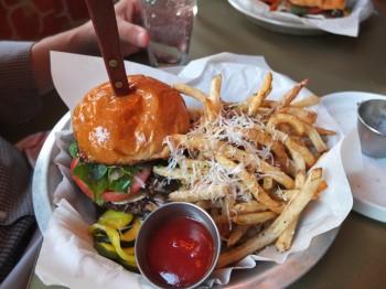 The Dish Boise Brie Burger