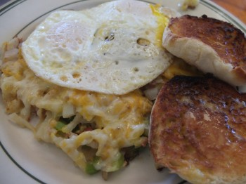 Shanty Cafe Supreme Hash Browns